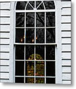 He Hears Our Prayers On Both Sides Of The Window Metal Print