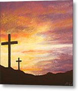 He Is Risen Metal Print by Marna Edwards Flavell