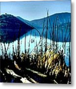 He Leads Me Beside Still Waters Metal Print