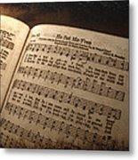 He Set Me Free - Hymnal Song Metal Print