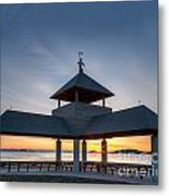Head Island Pavillion Metal Print
