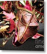Head Of A Dragon At Leeds Carnival Metal Print