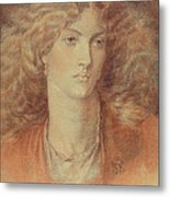 Head Of A Woman Called Ruth Herbert Metal Print