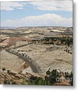 Head Of The Rocks - Scenic Byway 12 Metal Print