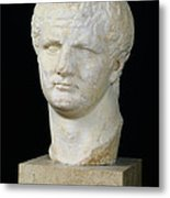 Head Of Titus Metal Print