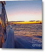 Headed Out Metal Print