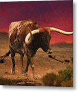 Heading Home For The Night Metal Print