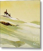 Heading Home From The Hunt Metal Print
