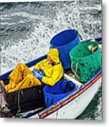 Heading Out To Sea  Metal Print