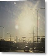 Heading South On The Kennedy Metal Print