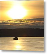 Heading To Sea Metal Print by Donald Torgerson