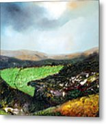 Heading To The Green Land Metal Print