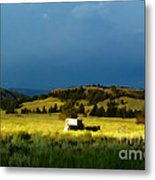 Heading West Metal Print