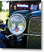 Headlight Of The Past 2 Metal Print