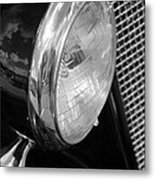 headlight205 BW Metal Print