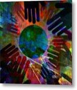 Heal The World Metal Print
