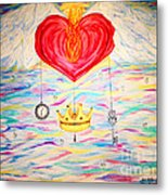 Healing In His Wings  Malachi 4 Metal Print