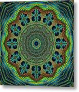 Healing Mandala 19 Metal Print by Bell And Todd