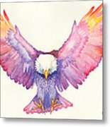 Healing Wings Metal Print