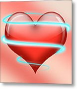 Hearbeat 1 Metal Print