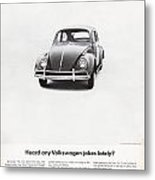 Heard Any Good Volkswagen Jokes Lately Metal Print by Georgia Fowler