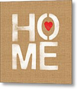 Heart And Home Metal Print