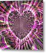 Heart And Soul In God's Hands Metal Print