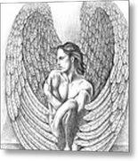 Heart Angel Metal Print