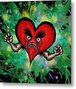 Heart Attack Metal Print