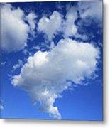 Heart Cloud 4-14-12 Metal Print
