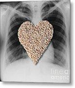 Heart Healthy Food Metal Print