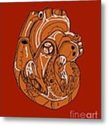 Heart, Illustration Metal Print