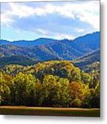 Heart Of Cataloochee Metal Print