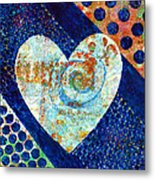 Heart Of Hearts Series - Elated Metal Print