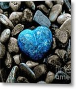 Heart Of Stone 2 Metal Print