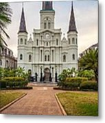 Heart Of The French Quarter Metal Print