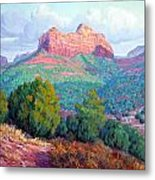 Heart Of The Southwest Metal Print