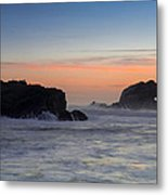 Heart Rock Metal Print