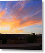 Heart Sunset Metal Print by Augusta Stylianou