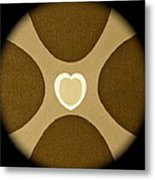 Heart Three Metal Print