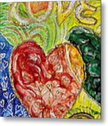Heart To Heart G Metal Print