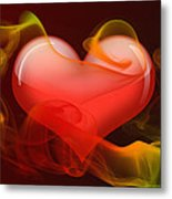 Heartbeat 4 Metal Print