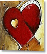 Heartbeat By Madart Metal Print