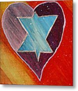 Hearts And Stars Forever Metal Print