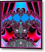 Hearts Ballet Curtain Call Fractal 121 Metal Print