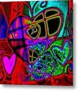 Hearts Desire Metal Print by Rebecca Flaig