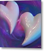 Hearts In A Vortex Metal Print