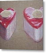 Hearts Is Hearts Metal Print