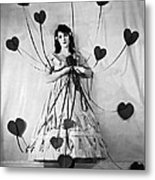 Hearts With Strings Attached Metal Print
