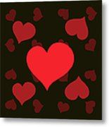 Hearty Delight Metal Print